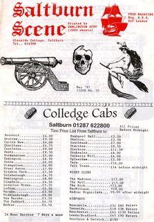 Saltburn Scene flyer 1992 005