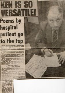 Kenny Foxton Eve Gazette Sat April 22 1989