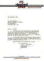 Letter from Bill Hunter